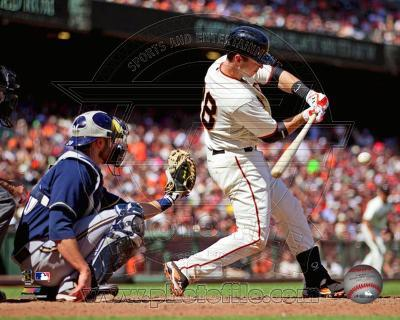 Buster Posey 2012 Action