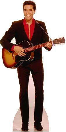 Elvis with Guitar Music Lifesize Standup