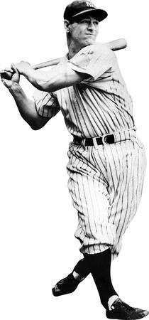 Lou Gehrig New York Yankees Lifesize Standup