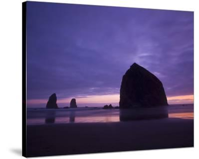 Cannon Beach Purple Sunset