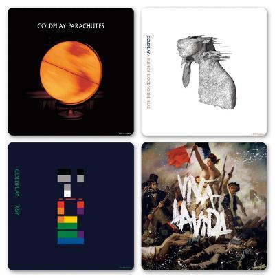 Coldplay - Logos Boxed Coaster Set