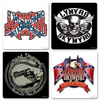 Lynyrd Skynrd Boxed Coaster Set