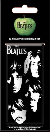 The Beatles - Faces Magnetic Bookmark