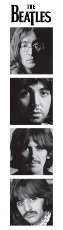 The Beatles - Faces Bookmark