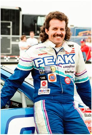 Kyle Petty Pocono 1990 Archival Photo Poster