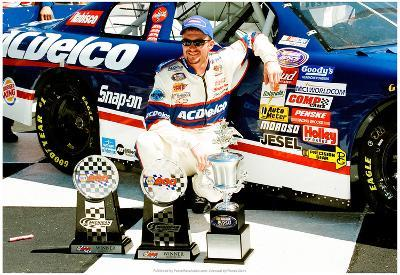Dale Earnhardt Jr. Michigan 1999 Archival Photo Poster