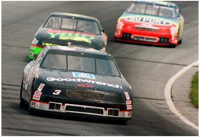 Dale Earnhardt NASCAR Archival Photo Poster