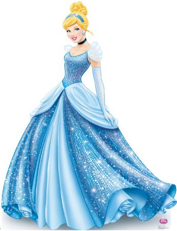 Princess Cinderella Sparkle - Disney Lifesize Standup Poster