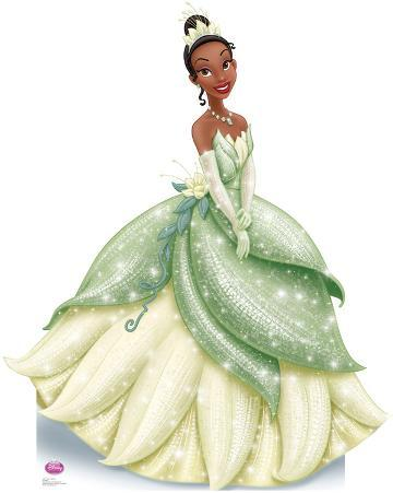 Princess Tiana Sparkle - The Princess and the Frog Disney Lifesize Standup Poster