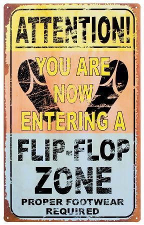 Entering Flip Flop Zone
