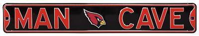Man Cave Arizona Cardinals Steel Sign