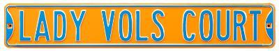 Lady Vols Court Steel Sign