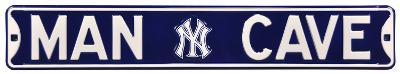 Man Cave NY Yankees Steel Sign