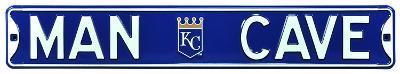Man Cave Kansas City Royals Steel Sign