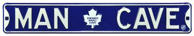 Man Cave Toronto Maple Leafs Steel Sign
