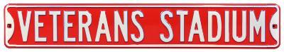 Veterans Stadium Steel Sign