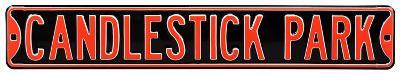 Candlestick Park Steel Sign