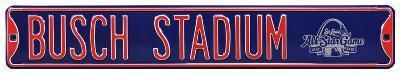 Busch Stadium Navy All Star 2009 Steel Sign