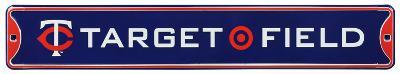 Target Field Minnesota Twins Steel Sign