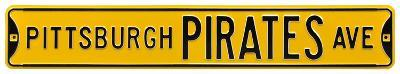 Pittsburgh Pirates Ave Steel Sign