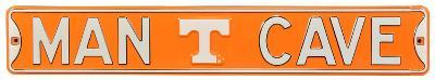Man Cave Tennessee Vols Steel Sign