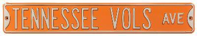 Tennessee Vols Ave Steel Sign