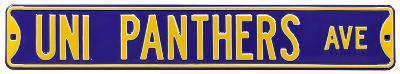 UNI Panthers Ave Steel Sign