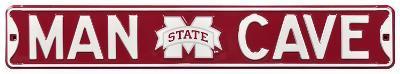 Man Cave Mississippi State Steel Sign