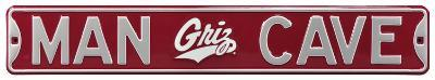 Man Cave Montana Grizzlies Steel Sign