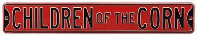 Children Of The Corn Nebraska Steel Sign