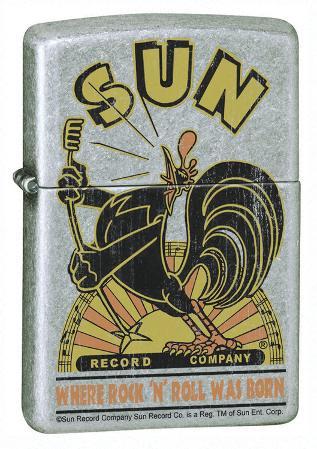 Sun Rooster - Street Chrome Zippo Lighter