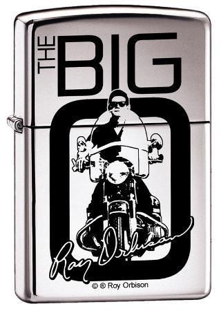 Roy Orbison - High Polish Chrome Zippo Lighter