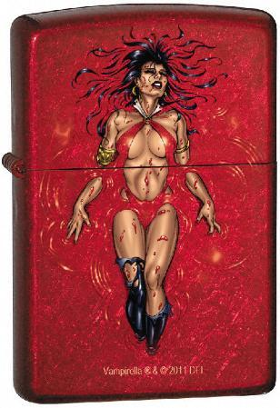Vampirella - Candy Apple Red Zippo Lighter