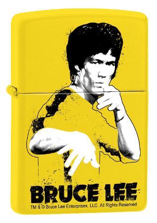 Bruce Lee Yellow Suit - Lemon Zippo Lighter