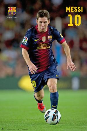 FC Barcelona - Lionel Messi Poster