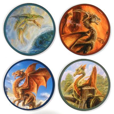B Eggleton Dragons Coaster Set