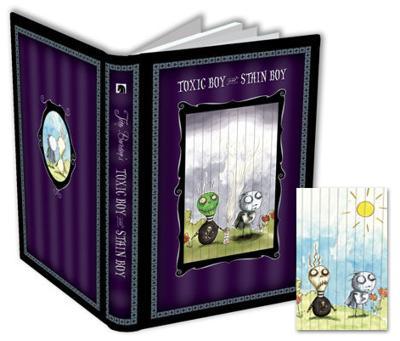 Tim Burton - Toxic Boy and Stain Boy Pulltab Journal
