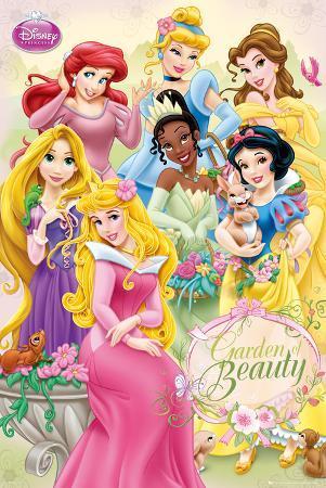 Disney Princess-Garden