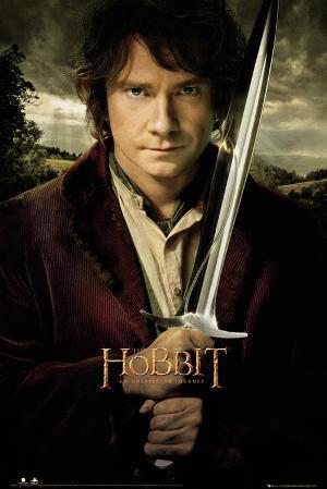 The Hobbit-Bilbo And Sword