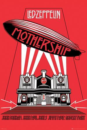 Led Zeppelin Mothership Photo At Allposters Com