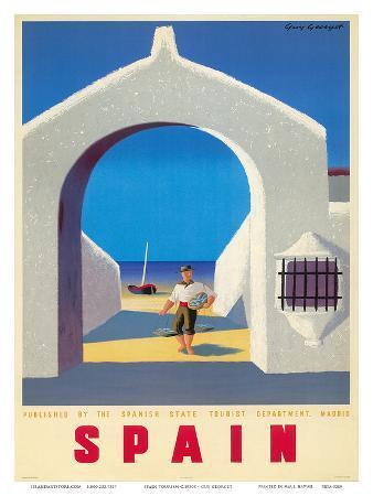 Spain Tourism c.1950s