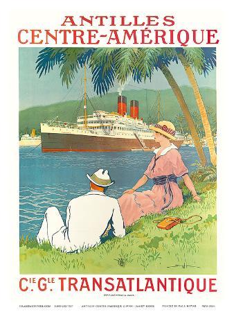 Antilles Centre Amerique c.1970s