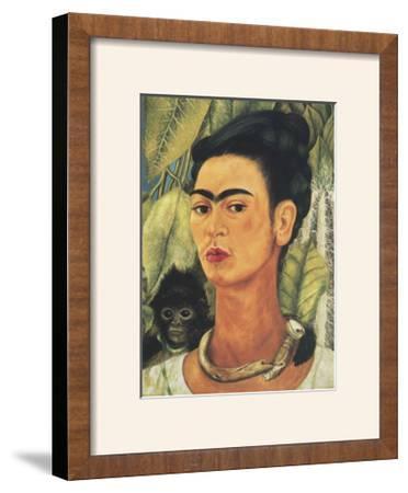 Self-Portrait with Monkey, 1938