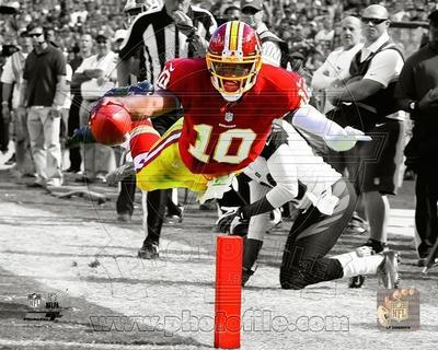 Robert Griffin III 2012 Spotlight Action