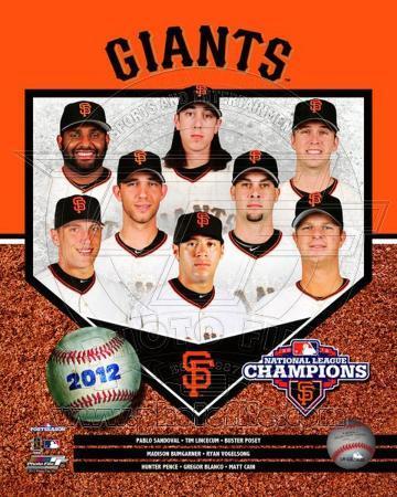 San Francisco Giants 2012 National League Champions Composite
