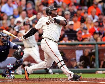 Pablo Sandoval Solo Home Run 1st Inning Game 1 of the 2012 MLB World Series Action