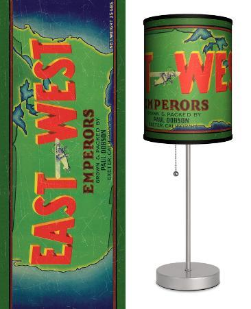 East West Emperors - Table Lamp