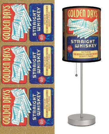Golden Days - Table Lamp