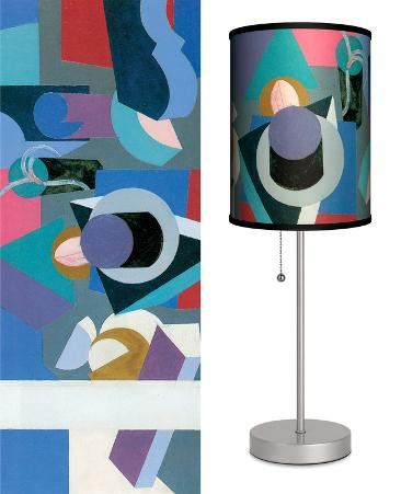 Painting - Table Lamp