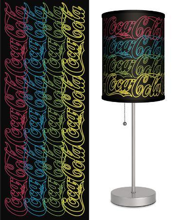 Coca-Cola: Neon Signs - Table Lamp